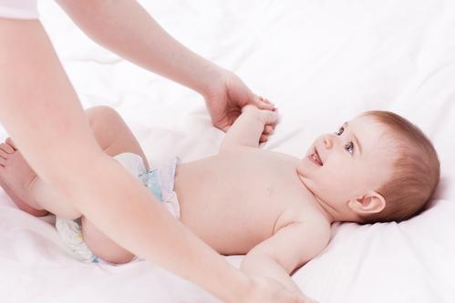 masáž miminka
